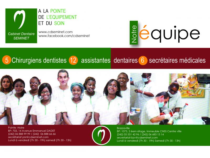 Cabinet dentaire seminet congo info for Chambre de commerce du congo brazzaville